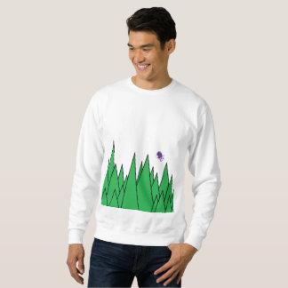 Hässlicher Weihnachtswald (plus Zuckerpflaumenfee) Sweatshirt