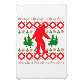 Hässliches Weihnachten Bigfoot Hülle Für iPad Mini