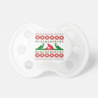 Hässliches Weihnachtsbier Schnuller