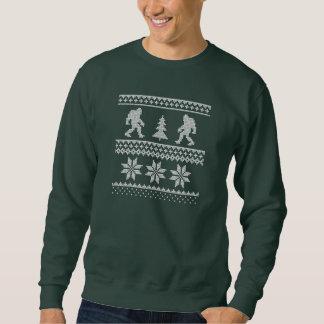 Hässliches WeihnachtsSweatshirt Bigfoots Sweatshirt