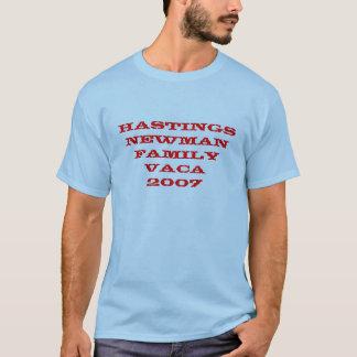 HASTINGS NEWMAN Familie Vaca 2007 T-Shirt