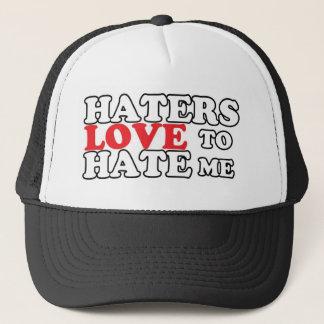 Haters-Liebe, mich zu hassen Truckerkappe