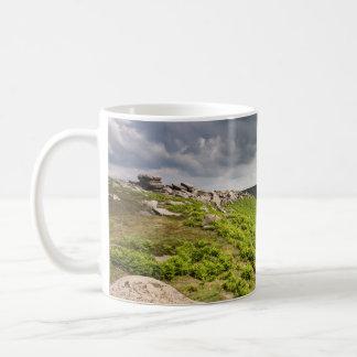 Hathersage machen Derbyshire-Andenken-Foto fest Kaffeetasse