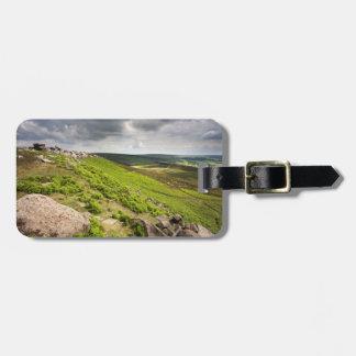 Hathersage machen Derbyshire-Andenken-Foto fest Kofferanhänger