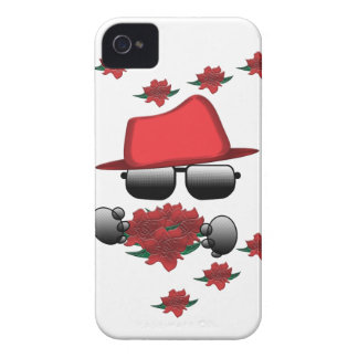 HatMan Robbot Valantine Case-Mate iPhone 4 Hülle