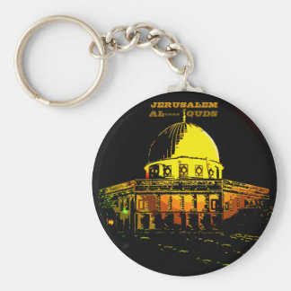 Haube des Felsens, Jerusalem Schlüsselanhänger