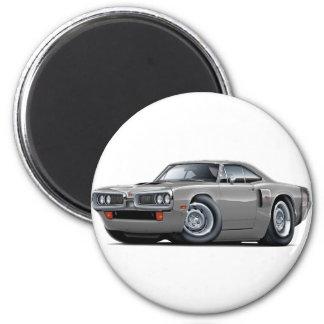 Hauben-Schaufel-Auto 1970 Coronet Funktelegrafie Runder Magnet 5,1 Cm