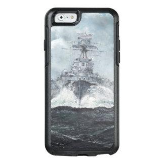 Haubenköpfe für Bismarck 23rdMay 1941. 2014 OtterBox iPhone 6/6s Hülle