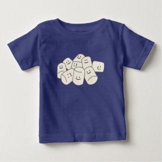 Hauch-Bonbonfreund der glücklichen Eibischfreunde Baby T-shirt