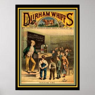 Hauch-Plakat 12 x 16 Stiers Durham Poster