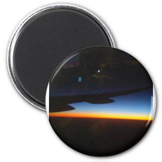 Häufige Flyer-Vertikale Runder Magnet 5,7 Cm