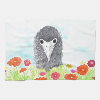 Haulani das Albatros-Küken Geschirrtuch