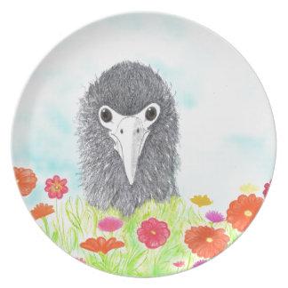 Haulani das Albatros-Küken Melaminteller