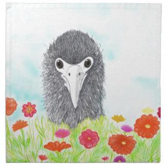Haulani das Albatros-Küken Serviette