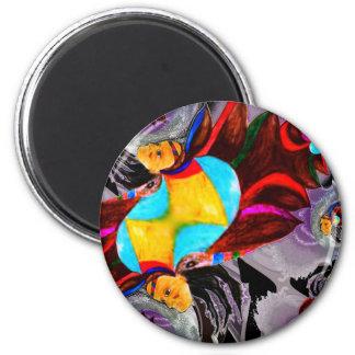 Hauptfarbgeist multi poducts runder magnet 5,1 cm