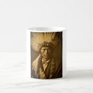 Hauptgarfield indisches Vintages Apache- Kaffeetasse