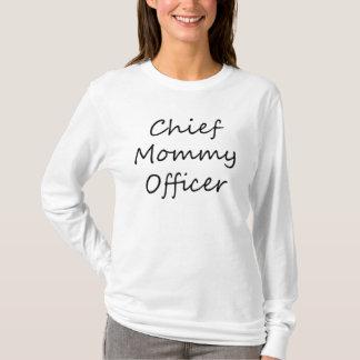 Hauptmama-OffizierHoodie T-Shirt