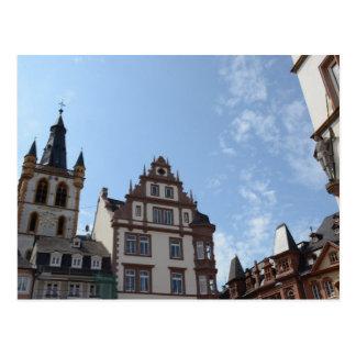 Hauptmarkt Trier Postkarte