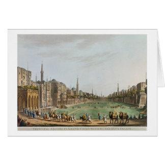 Hauptquadrat in großartigem Kairo, mit Murad Beys Karte