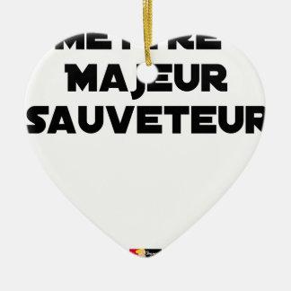 HAUPTRETTER STELLEN - Wortspiele Keramik Ornament