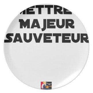 HAUPTRETTER STELLEN - Wortspiele Teller
