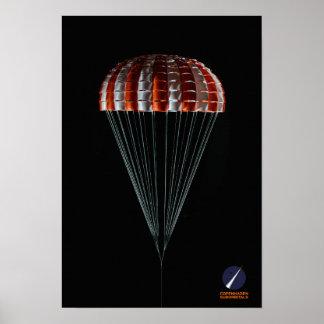 HauptRingsail Fallschirm Kopenhagens Suborbitals Poster