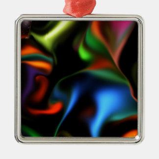 Hauptsatin Silbernes Ornament