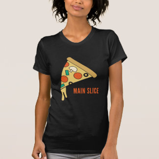 Hauptscheibe-Pizza T-Shirt