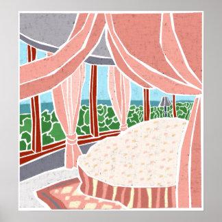 Hauptschlafzimmer-Reihe Posterdruck