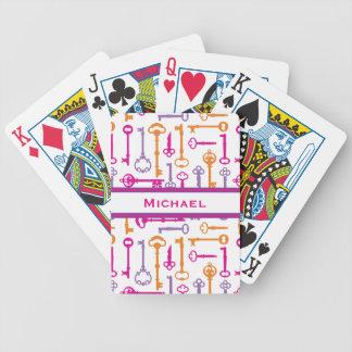 Hauptschlüssel Pokerkarten