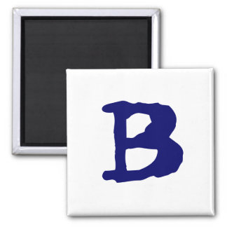 Hauptstadt B Quadratischer Magnet