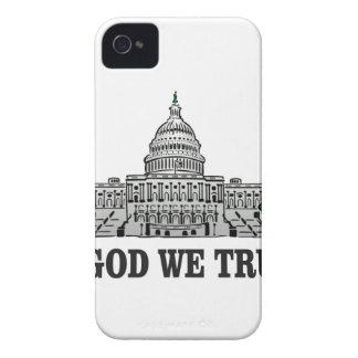 Hauptstadt im Gott, den wir vertrauen iPhone 4 Hüllen