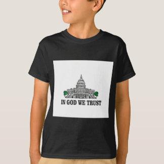 Hauptstadt im Gott, den wir vertrauen T-Shirt