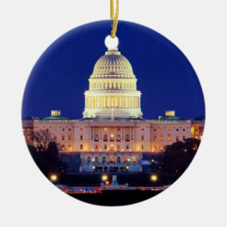 Hauptstadt Washington DCs Vereinigte Staaten an Keramik Ornament