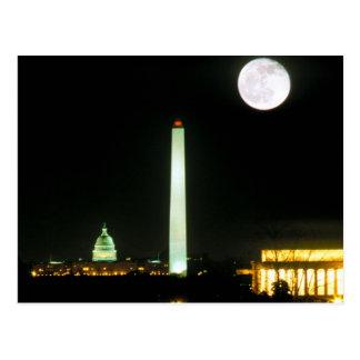 Hauptstadts-Gebäude, Lincoln Memorial, Washington Postkarte