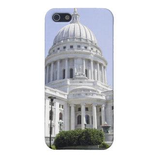 Hauptstadts-Gebäude-Madison WI iPhone 5 Hülle