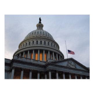 Hauptstadts-Gebäude-Postkarte Washington DCs US Postkarte