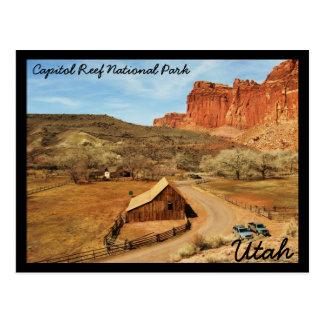 Hauptstadts-Riff-Nationalpark Postkarten