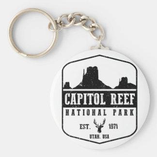Hauptstadts-Riff-Nationalpark Schlüsselanhänger