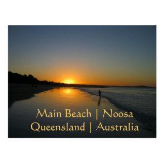 Hauptstrand, Noosa, Postkarte Queenslands,