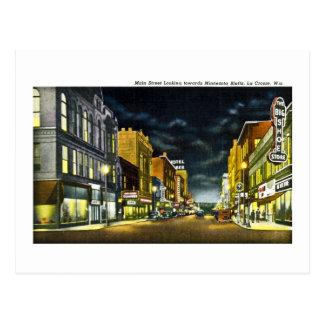 Hauptstraße, La Crosse, Wisconsin Postkarte