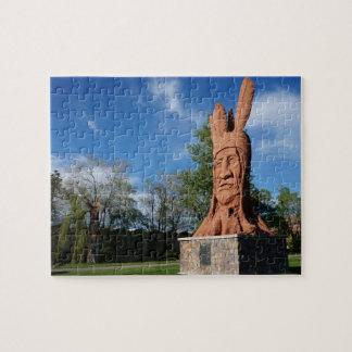 HauptWasatch Statue-Murray-Park, Salt Lake City Foto Puzzles