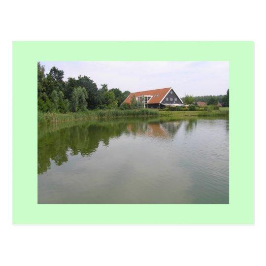 Haus am See Postkarte