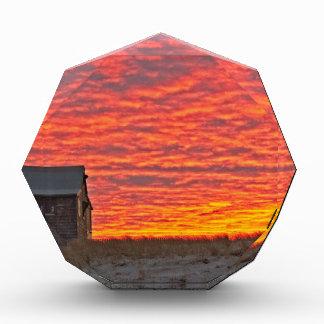 Haus an Sonnenuntergang - 2 Auszeichnung