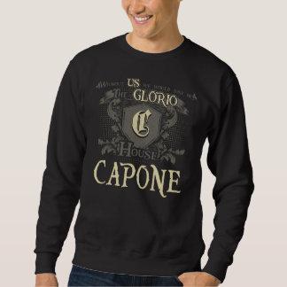 Haus CAPONE. Geschenk-Shirt für Geburtstag Sweatshirt