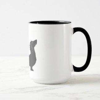 """Haus-Dackel """"Abendessen ist kommende"""" Kaffee-Tasse Tasse"""