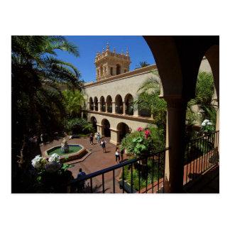 Haus der Gastfreundschaft im Balboa-Park Postkarte