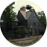 Haus der sieben Giebel-Foto-Skulptur Fotostatuen