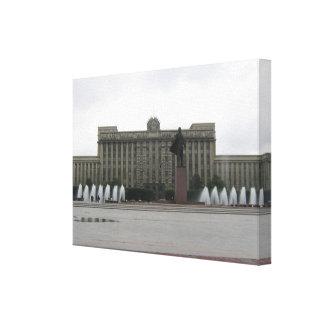 Haus der Sowjets St Petersburg, Russland Leinwanddruck