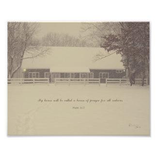 Haus des Gebets Fotodruck
